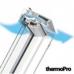 Plastové kyvné okná so zvýšenou odolnosťou proti vlhkosti  FAKRO - ,,LUX,, PTP-V U5