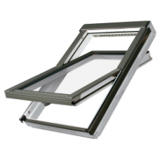Drevené kyvné okná so zvýšenou odolnosťou proti vlhkosti  FAKRO - ,,PROFI,,  FTU-V U3